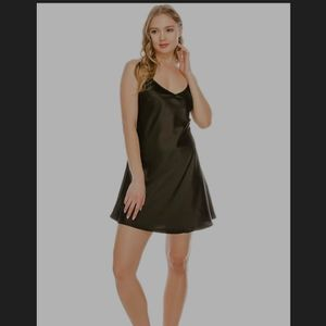 Elevatedqueens Satin Dress & Thong Set for Sale in Los Angeles, CA