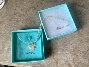 """Tiffany Two-Heart 16"""" Pendant for Sale in Bowie, MD"""