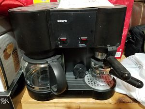 KRUPS IL CaffePresso Capuccino/Coffee Maker for Sale in Olney, MD