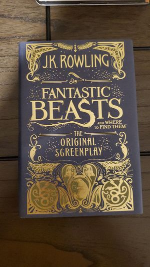 Fantastic Beasts Screen Play for Sale in Long Beach, CA