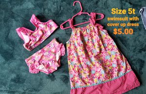 Hello kitty swim suit 5t and a cover up dress for Sale in Sanctuary, TX