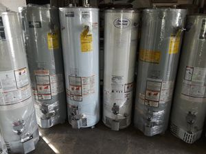 Especial today water heater for 200 1 year warranty for Sale in Riverside, CA