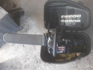 Craftsman 16 in gas chainsaw w/ case for Sale in Bakersfield, CA