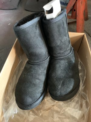 Ugg black boots girls size 3 for Sale in Fremont, CA
