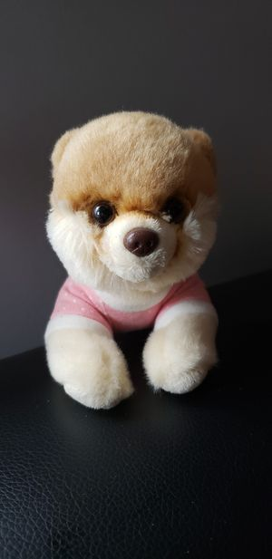 "Gund Itty Bitty Boo Dog Plush 010 Baby Pink Pajamas Stuffed Animal Toy 6.5"" for Sale in Rosedale, MD"