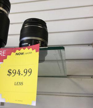 canon lense for Sale in Houston, TX