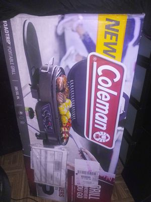 Coleman on the road grill for Sale in New York, NY