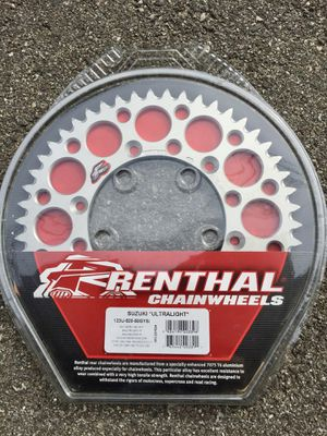 RENTHAL 50 TOOTH SPROCKET FOR RMZ450 ETC. for Sale in Burbank, CA