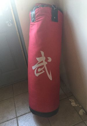 150 pound punching bag (sand) for Sale in Carteret, NJ