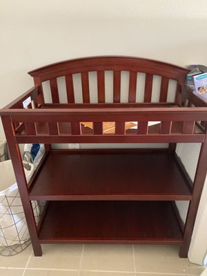New changing table. Is assemble and ready to use. for Sale in Beaumont, CA