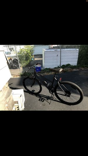 """Mongoose 20"""" Matte Black Bike - with Lock and new hand grips for Sale in Lawrence, MA"""