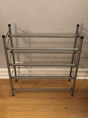Expandable 4-Tier Shoe Rack for Sale in Chicago, IL