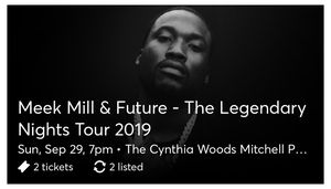 Meek Mill & Future & Megan Thee Stallion tickets for Sale in Houston, TX