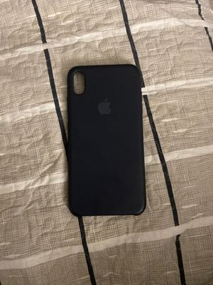 iPhone XS Max silicone case for Sale in Sterling, VA