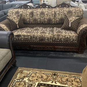 USA Made Sofa And Love Seat On Sale( Choose You Fabrics ) for Sale in Federal Way, WA
