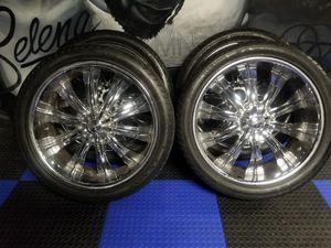 24's Chrome rims. Lexani tires. Versanté rims. for Sale in Pomona, CA