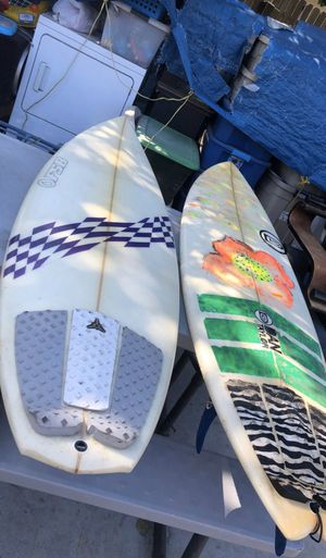 "Surfboards FSB 5'9"" and Dan Taylor ROACH 5'11"" for Sale in Westminster, CA"