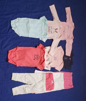 3-6/6 months baby girl clothes bundle 😍 💕 💖! for Sale in Lockport, NY