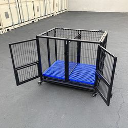 brand new $140 stackable dog cage kennel heavy-duty 37x25x33 inches for Sale in Whittier,  CA