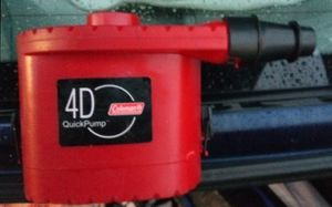 Coleman Battery operated air pump for Sale in Oceano, CA
