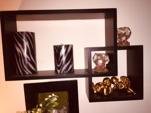 Intersecting cube shelves for Sale in Manassas Park, VA