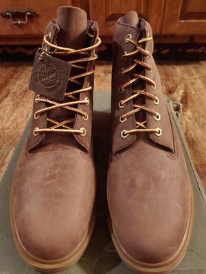 Timberland Men's Brown boots size 10.5 (NEW) for Sale in Springfield, IL