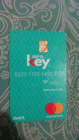 SEPTA key card with $45 on it for Sale in Philadelphia, PA