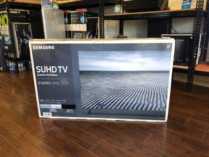 55 INCH SMAUNG QLED SMART 4K for Sale in Pasadena, CA