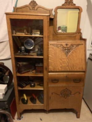 Antique cabinet / desk for Sale in Tampa, FL