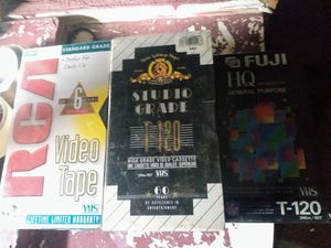 10 new blank vhs tapes for Sale in Denver, CO