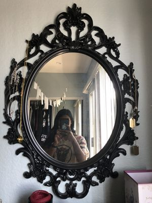 Gothic-style oval mirror for Sale in West Hollywood, CA