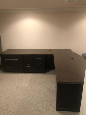 Beautiful custom desk! FLAWLESS for Sale in Woodbury, NJ