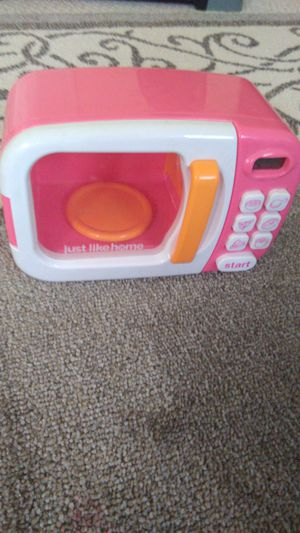 Toy microwave for Sale in Ashburn, VA