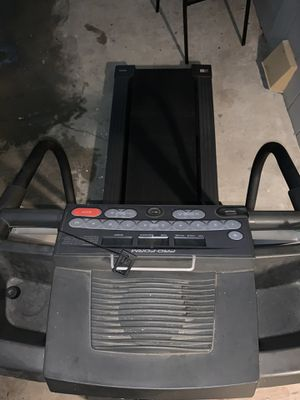 Treadmill with fan & heart rate checker. for Sale in Perris, CA