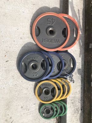 250 lbs Weight set for Sale in Fort Worth, TX