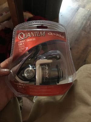 Quantum q ray fishing reel need sale now for Sale in Lillington, NC