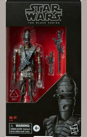 Brand new exclusive Hasbro Star Wars Black Series IG-11 figure from The Mandalorian for Sale in Queens, NY