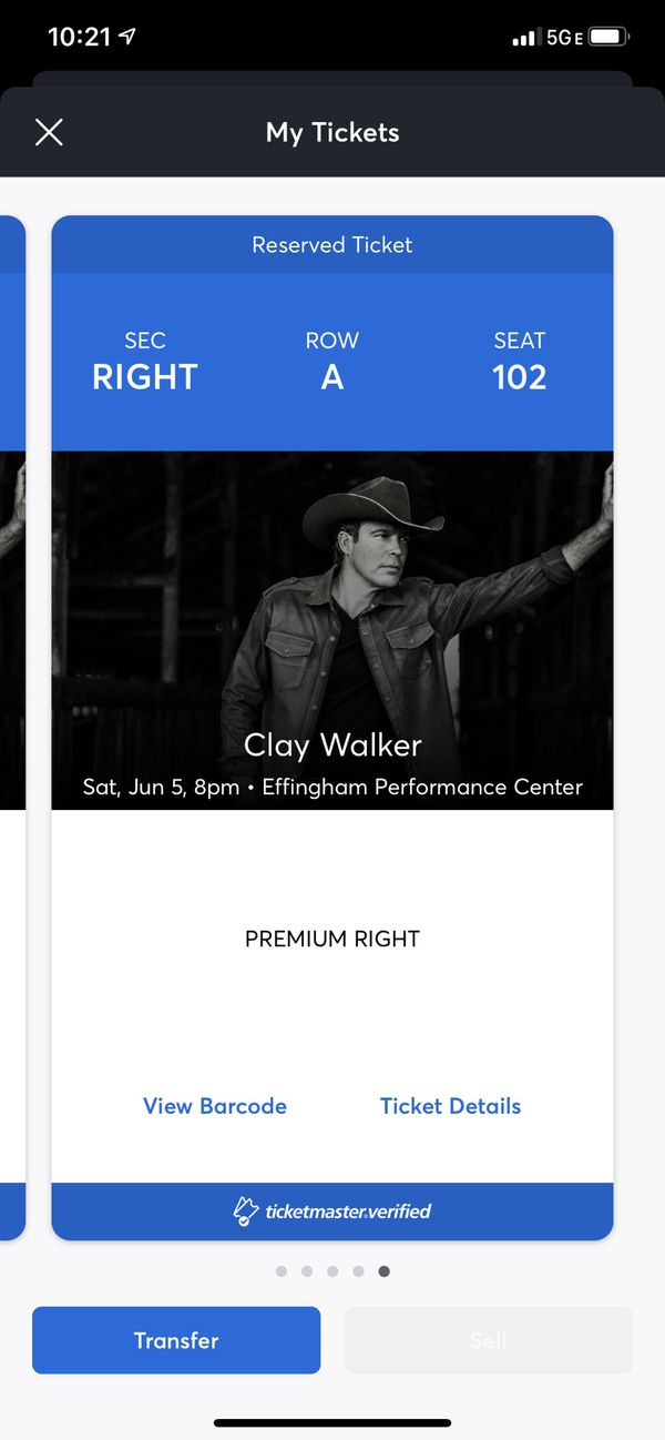 Clay walker tickets