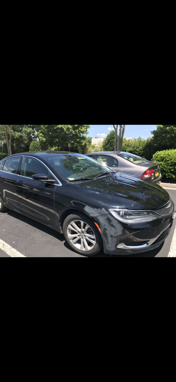 2015 Chrysler 200 limited