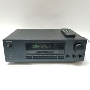 ONKYO TX-8211 50W/Channel FM Stereo/AM Receiver w/Remote, Black for Sale in Gaithersburg, MD
