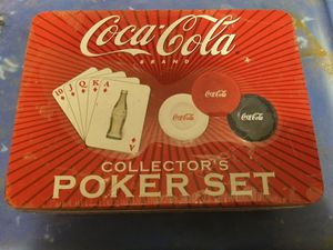 Coca cola poker set for Sale in Port Arthur, TX