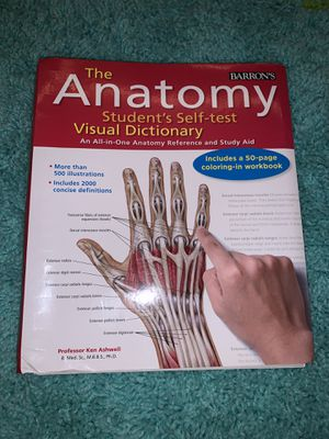 Anatomy Workbook Study Guide for Sale in St. Louis, MO
