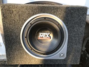 MTX Subwoofer for Sale in Lakewood Township, NJ