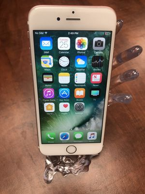 Apple iPhone 6s Plus 16gb Unlocked Work Worldwide For Any Carriers for Sale in Newark, CA