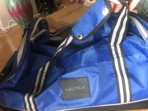 Nautica duffle bag with wheels for Sale in Hazard, CA