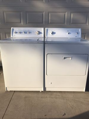 Kenmore super capacity washer and gas dryer for Sale in Riverside, CA