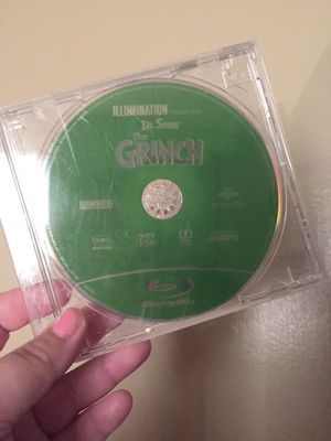 Grinch Blu Ray for Sale in Fresno, CA