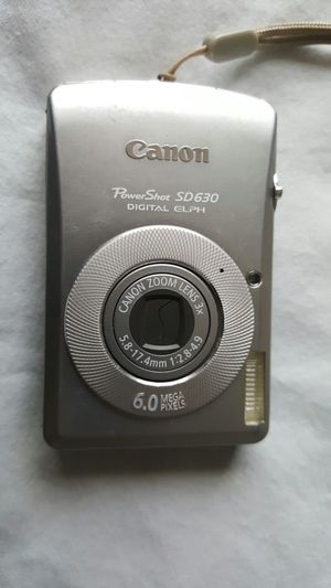Canon Powershot SD630 6MP w/ 2GB SD card & case for Sale in San Francisco, CA