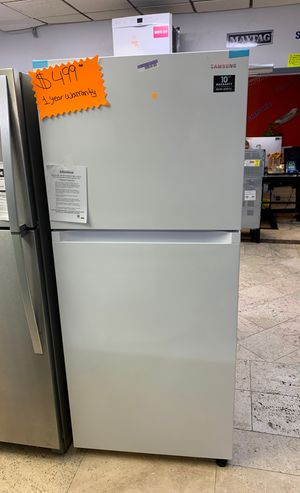 Samsung top and bottom refrigerator/brand new/1 year manufacture warranty /free delivery/90 day payment plan/0 interest/no credit needed for Sale in West Palm Beach, FL