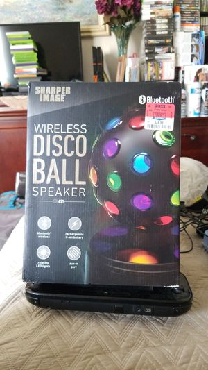 Sharper Image Disco Ball Speaker for Sale in Chino Hills, CA